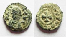 Ancient Coins - ORIGANAL Desert Patina: Axumite kingdom. Anonymous issue (c. AD 370). AE 13