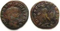 Ancient Coins - LARGE MAXIMIANUS AE FOLLIS