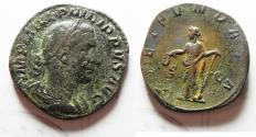 Ancient Coins - PHILIP I AE SESTERTIUS.