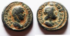 Ancient Coins - DECAPOLIS. BOSTRA. SEVERUS ALEXANDER AE 19