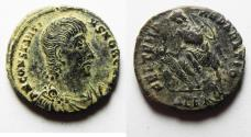 Ancient Coins - CONSTANTIUS GALLUS AE 3 . DESERT PATINA. ALEXANDRIA MINT