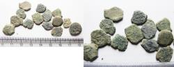 Ancient Coins - AS FOUND: Lot of 15 Ancient Biblical Widow's Mite Coins