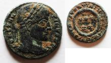 Ancient Coins - CONSTANTINE THE GREAT AE 3. AS FOUND