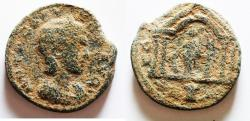 Ancient Coins - Possibly unpublished type for this empress: Phoenicia. Tyre under Otacilia Severa (Augusta, AD 244-249). AE 28mm, 17.02g.