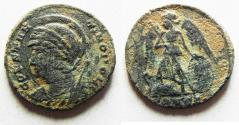 Ancient Coins -  ORIGINAL DESERT PATINA. CONSTANTINE I AE 3 . COMMEMORATIVE. ROME