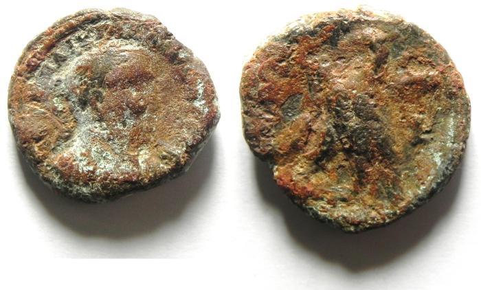 Ancient Coins - EGYPT . ALEXANDRIA UNCLEANED POTIN TETRADRACHM