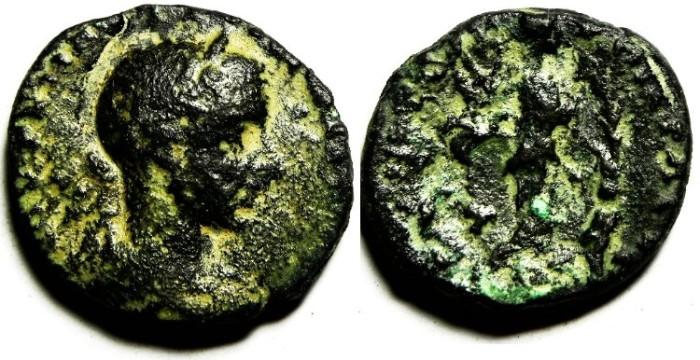 Ancient Coins - JUDAEA, NYSA SCYTHOPOLIS, GORDIAN AE 24