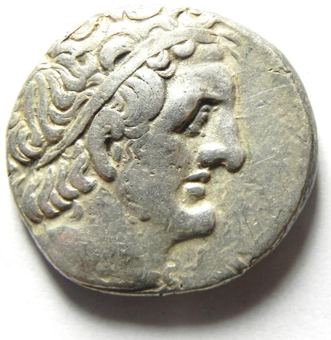 Ancient Coins - Ptolemaic Kingdom. Ptolemy II Philadelphos. 285-246 BC. AR Tetradrachm , SIDON MINT.