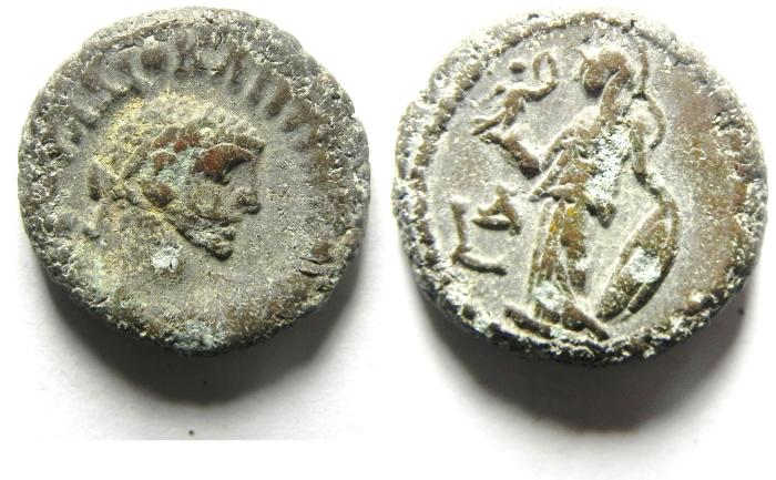 Ancient Coins - EGYPT , ALEXANDRIA POTIN TETRADRACHM , DIOCLETIAN
