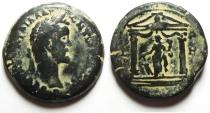Ancient Coins - Egypt. Alexandria under Antoninus Pius (AD 138-161). AE drachm. Struck in regnal year 8 (AD 144/5).