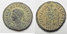 Ancient Coins - CONSTANTIUS II AE 3  AS FOUND
