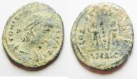 Ancient Coins - CONSTANTIUS II AE 4. ALEXANDRIA MINT
