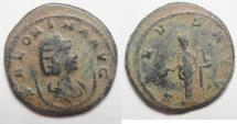 Ancient Coins - BEAUTIFUL AS FOUND ANTONINIANUS OF SALONINA