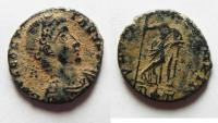 Ancient Coins - CONSTANS AE 4 . RARE
