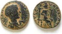 Ancient Coins - SAMARIA - NYSA-SCYTHOPOLIS , GORDIAN AE 24 , BEAUTIFULL!!!!!!!!!!