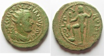 Ancient Coins - Phoenicia. Tyre under Valerian I (AD 253-260) AE 29mm, 15.51g.