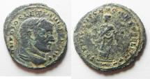 Ancient Coins - DIOCLETIAN AE FOLLIS. CARTHAGE MINT