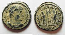 Ancient Coins - CONSTANTINE I AE 3 . NICE ORIGINAL DESERT PATINA