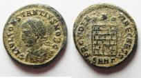 Ancient Coins - CONSTANTIUS II AE 3 . AS FOUND