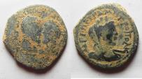 Ancient Coins - Petra, Marcus Aurelius and Lucius Verus AE 20
