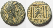 Ancient Coins - Apparently unpublished : Judaea. Tiberias under Commodus (177-192 CE). AE 29mm, 15.65gm