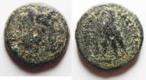 Ancient Coins - PTOLEMAIC KINGDOM. PTOLEMY II AE 24. AS FOUND. TYRE