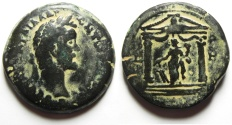 Ancient Coins - Egypt. Alexandria under Antoninus Pius (AD 138-161). AE drachm. Struck in regnal year 8 (AD 144/5).