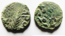 Ancient Coins - AS FOUND: JUDAEA. PORCIUS FESTUS UNDER NERO PRUTAH