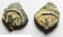 Ancient Coins - Judaea, Herod the Great, 37 - 4 B.C. AE prutah. EAGLE