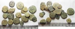 Ancient Coins - AS FOUND: LOT OF 20 ANCIENT ISLAMIC MOSTLY BRONZE COINS