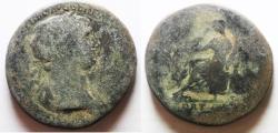 Ancient Coins - ROMAN IMPERIAL. TRAJAN. AE SESTERTIUS