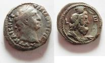 Ancient Coins - EGYPT. ALEXANDRIA. TRAJAN BILLON TETRADRACHM