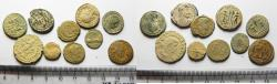 Ancient Coins - AS FOUND: LOT OF 10 ROMAN BRONZE COINS