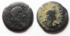 Ancient Coins - EGYPT. ALEXANDRIA. DOMITIAN AE DIOBOL