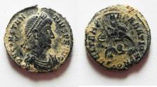 Ancient Coins - AS FOUND: CONSTANTIUS II AE 3