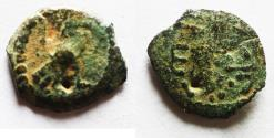 Ancient Coins - Judaea, Herod the Great, 37 - 4 B.C. AE prutah. eagle