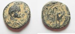 Ancient Coins - ARABIA. HIPPUM. ELAGABALUS AE 27