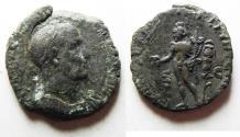 Ancient Coins - ROMAN IMPERIAL. Trajan Decius (AD 249-251). AE sestertius (26mm, 9.98g). Rome mint.