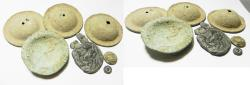 Ancient Coins - ANCIENT HOLY LAND. LOT OF ANCIENT RELICS. MOSTLY BRONZE  MOSTLY ROMAN. 200 - 300 A.D