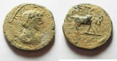 Ancient Coins - AS FOUND: ARABIA. PETRA. ELAGABALUS? AE 23, MORE LIKE GETA'S PORTRAIT