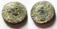 Ancient Coins - NICE AS FOUND: Decapolis. Gerasa. Hadrian. AD 117-138. Æ 25