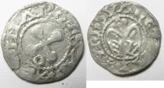World Coins - MEDIEVAL. France. Bishops of Valence. 12th-13th century. AR denier (18mm, 0.95g) .