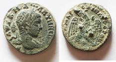 Ancient Coins - Elagabalus (218-222). Seleucis and Pieria, Antioch. Billon Tetradrachm
