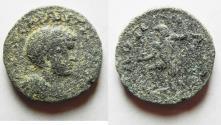 Ancient Coins - ARABIA. RABBATH-MOBA. ELAGABALUS AE 21