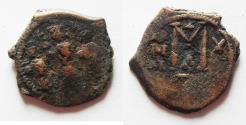 Ancient Coins - HERACLIUS 610-641 AD AE FOLLIS