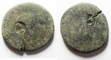 Ancient Coins - COUNTER-MARKED. BIBLICAL AE 24