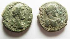 Ancient Coins - RARE IN NICE CONDITION: Decapolis. Philadelphia. Antoninus Pius. AD 138-161. Æ 23