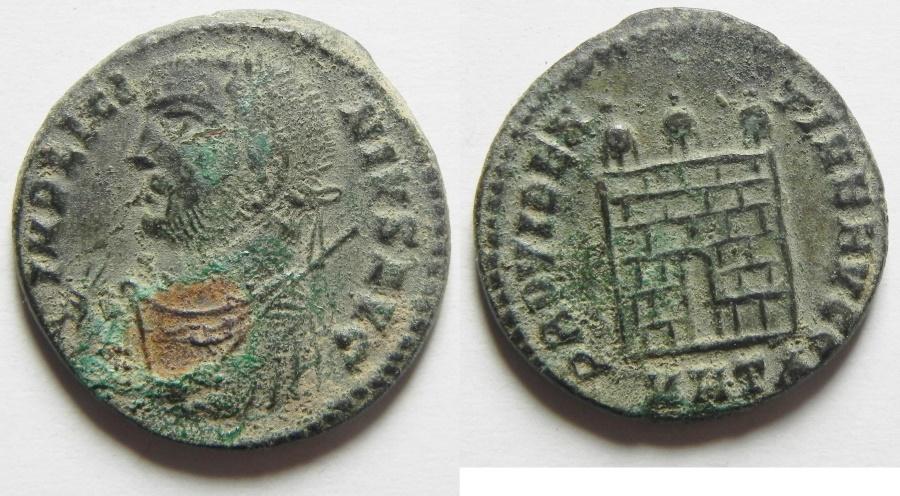 Ancient Coins - LICINIUS I AE 3 , BEAUTIFUL SHARP COIN