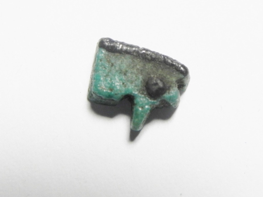 Ancient Coins - ANCIENT EGYPT , FAIENCE EYE OF HORUS AMULET, 600 - 300 B.C