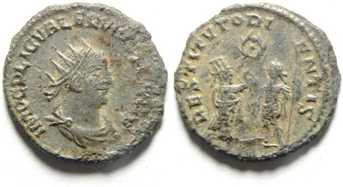 Ancient Coins - Valerian I: A.D. 253-260. Billon , Antoninianus